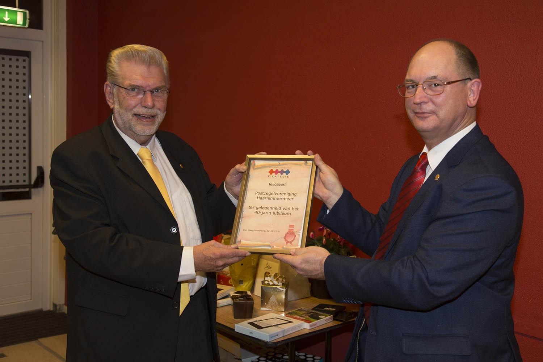 Ronald Peters en Hans Kraaibeek