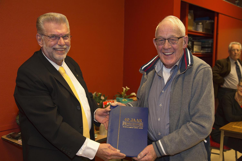 Ronald Peters en Gerrit Bakker